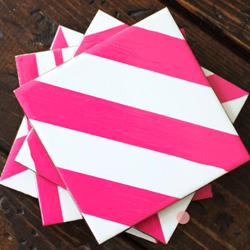 Tile Coaster Ideas