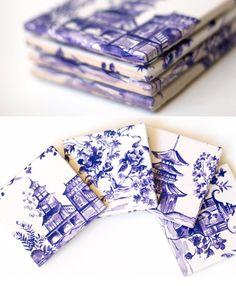 White Tile Coasters