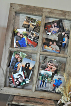 Window Pane Collage Picture Frame
