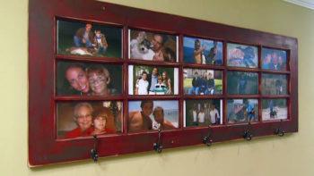 Window Pane Door Picture Frame