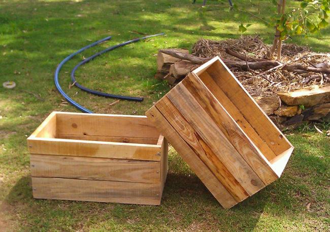 Wood Pallet Planter Plans