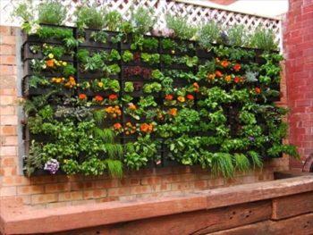 Wooden Pallet Garden Planter