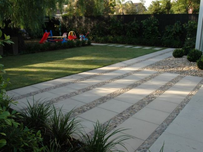 Concrete Pavers Outdoor Flooring Ideas