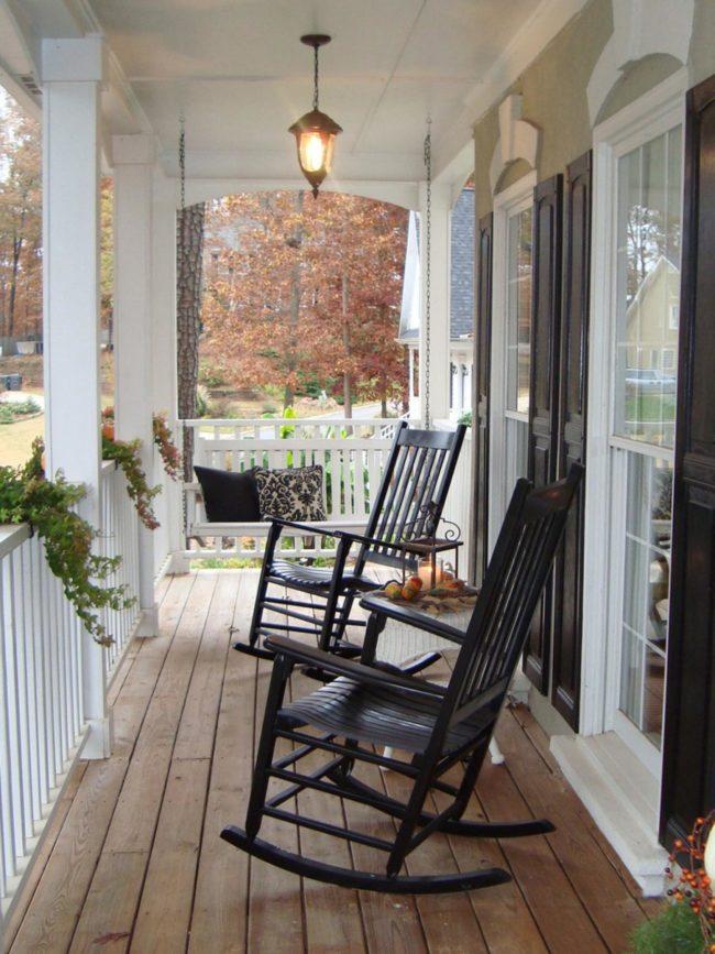 Front Porch Furniture Ideas