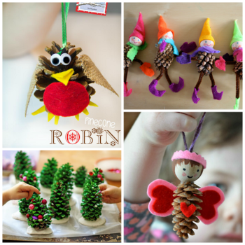 Small Pine Cones for Crafts