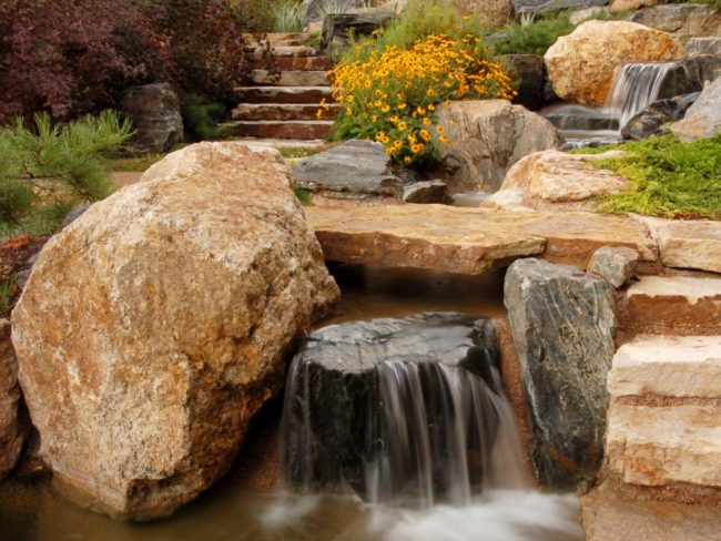 Stone Steps Outdoor Flooring Ideas