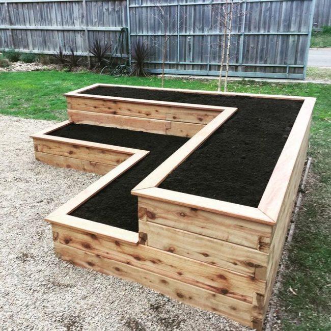 Tiered Garden Bed Plans