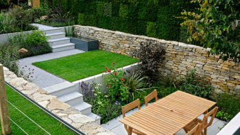 Tiered Garden Walls on garden designs with raised beds