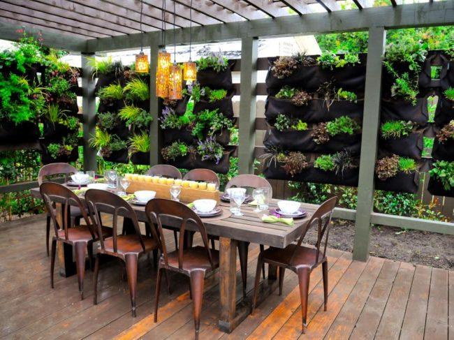 Wooden Planks Outdoor Flooring Ideas
