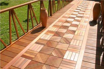 Wooden Tiles Outdoor Flooring