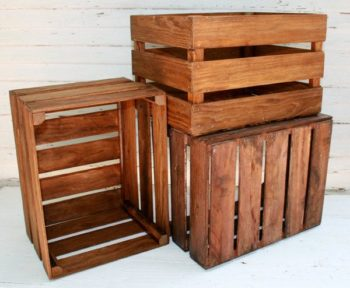 Wooden box crates for sale