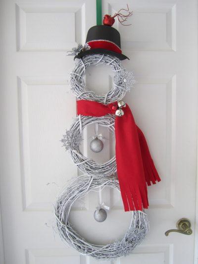 3 Wreath Snowman