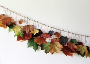 Autumn Garland Leaves