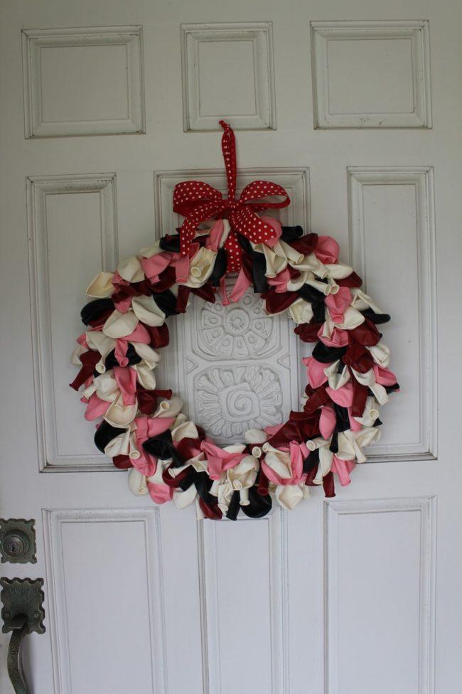 Balloon Front Door Wreaths