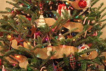 Burlap Garland for Christmas Tree