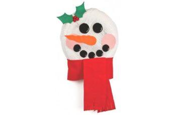Mesh Snowman Head