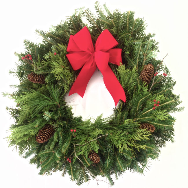 Pine Christmas Wreaths