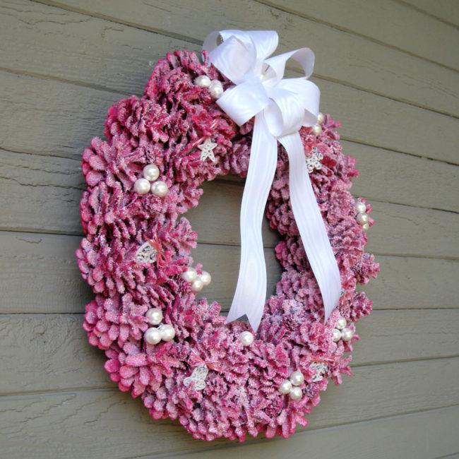Pinecone Wreath Craft