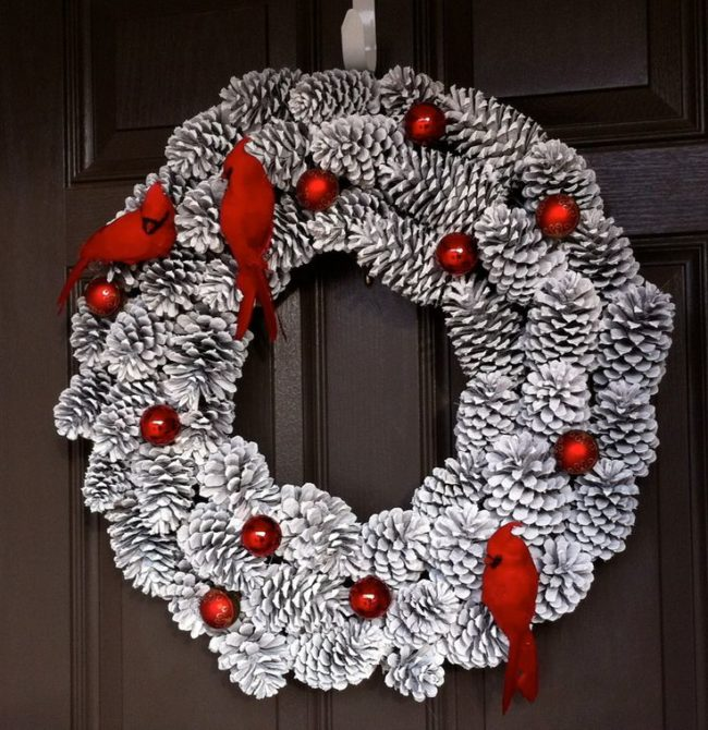 Pinecone Wreaths for Sale