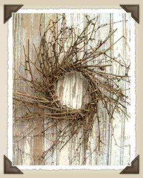 Small Twig Wreath