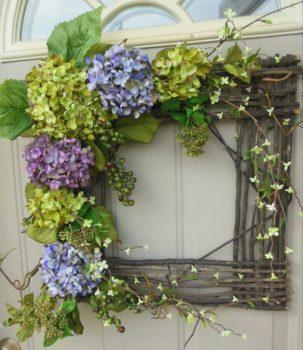 Square Twig Wreath