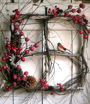 Twig Wreaths to Decorate