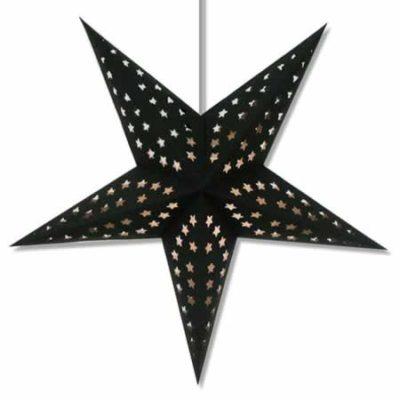 Black Paper Star Lanterns