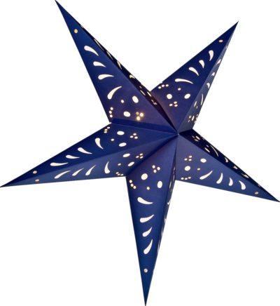 Blue Paper Star Lanterns