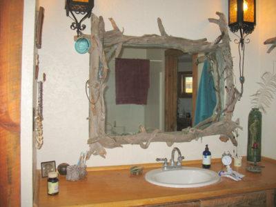 Driftwood Bathroom Mirror