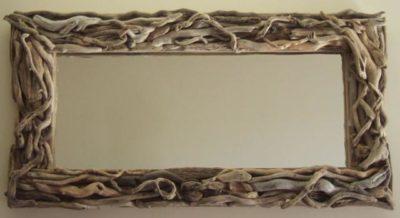 Driftwood Mirror Large