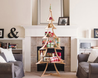 Full Size Wooden Christmas Tree