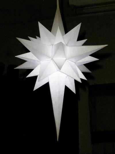 German Paper Star Lantern