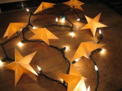 Mini Paper Star Lanterns