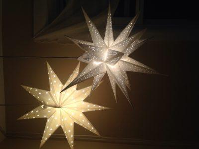 Outdoor Paper Star Lanterns