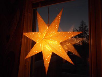Paper Star Lanterns Christmas