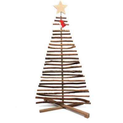 Wooden Twig Christmas Tree