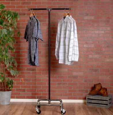 2 Way Pipe Clothing Rack