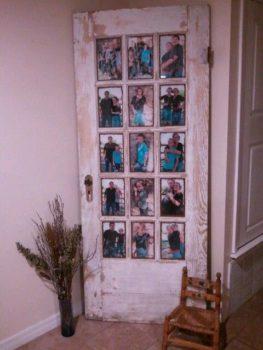 Antique Door Picture Frame