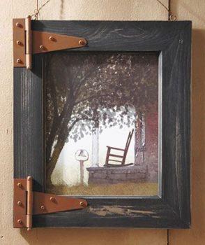 Barn Door Picture Frame