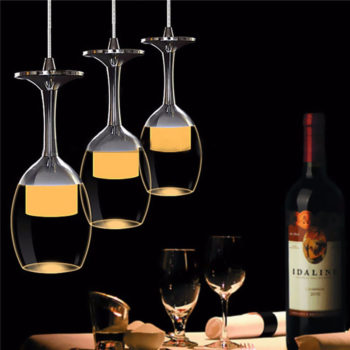 Creative Ideas about Wine Glass Chandelier