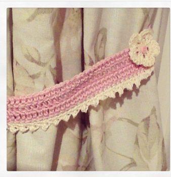Curtain Tie Backs Crochet Pattern