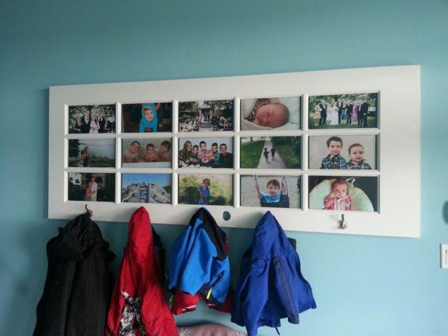 Door Picture Frame Coat Rack
