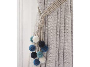Extra-Long Curtain Tie Backs