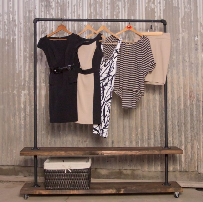 Gas Pipe Clothing Rack