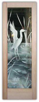 Glass Door Picture Frame