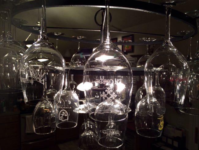 Maintenance of Wine Glass Chandelier