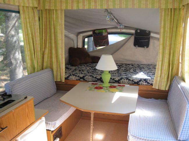 No-Sew Camper Curtains