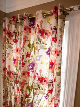 Budget Friendly No-Sew Curtains