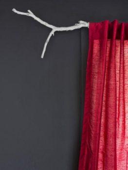 Rustic Branch Curtain Rod