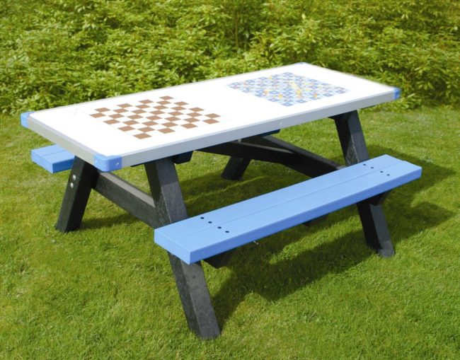 Wooden Picnic Tables for Schools
